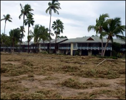 Nevis Residents Prepare For Hurricane Season 2012