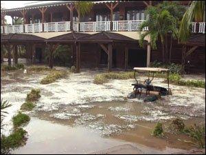 Four Seasons Resort Closed After Hurricane Omar