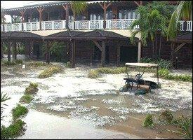Hurricane Damage At Four Seasons Resort - Nevis