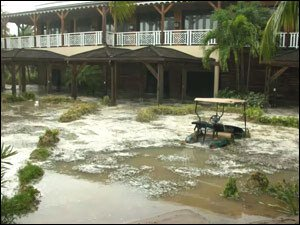 Hurricane Omar Damage To Four Seasons Resort Nevis