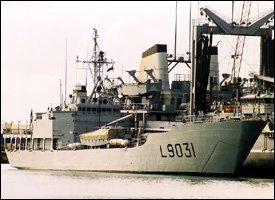 Francis Garnier - French Naval Transport Ship