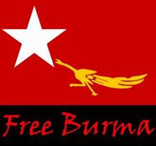 Free Burma Campaign Flag
