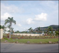 New Plantings Adorn Frigate Bay Roundabout