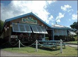 Gallipot Restaurant - Nevis, West Indies