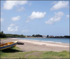 Gallows Bay Beach, Nevis Island