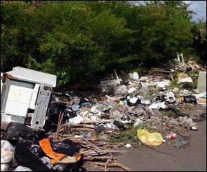 Garbage Dumped In Nevis