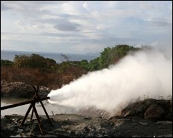 Geothermal Energy Site On Nevis