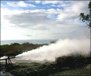 Geothermal Well On Nevis