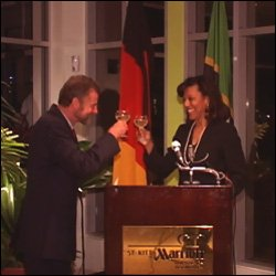 German Honorary Consul To St. Kitts - Nevis