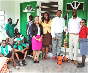 Gingerland Nevis Cleanup Program Receives Donation