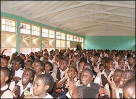 Gingerland School Students