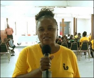Nevis Library Technician - Glenda Claxton