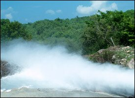 Geothermal Power Well - Nevis Island
