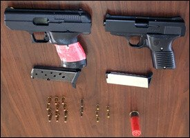 Handguns and Ammo Confiscated In St. Kitts