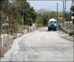 Hanley's Road On Nevis