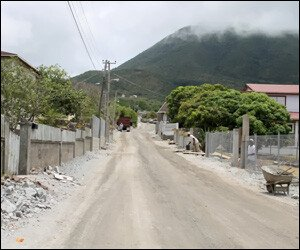 Nevis Road Project Progressing Smoothly