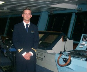 Harry Yearwood - Second Officer - Quantum of The Seas
