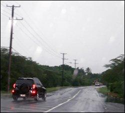 Heavy Rains In The Pinneys Area