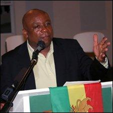 Hensley Daniel Speaking at Rastafarian Conference