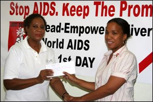 Nevis Island Receives Financial Aid For HIV/AIDS Program
