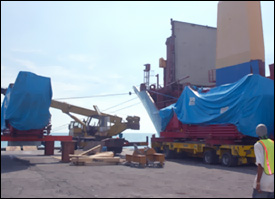 Holeby Gensets Arrive In St. Kitts