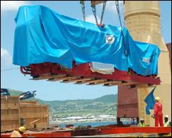 Holeby-MAN Generator Arrives In St. Kitts