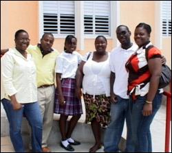 Members Of HOPE In Nevis