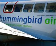 Hummingbird Air links St. Kitts with St. Thomas and St. Croix