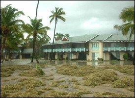 Four Seasons Resort - Nevis Hurricane Damage