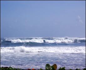 Hurricane Igor Induced Swells At Pogson Bay