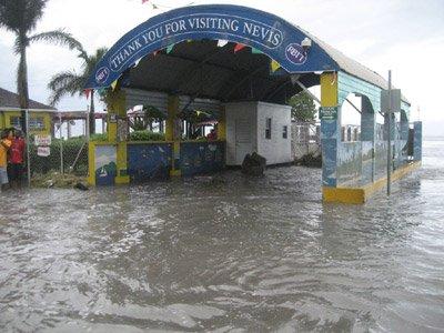 Hurricane Omar Damage to St. Kitts - Nevis