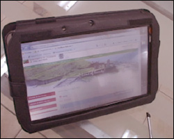 One Of The New I-Literacy PC Tablets