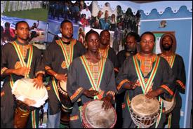 IAfrikana Drummers in Nevis