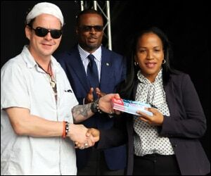 Nevis Blues Festival Hosts Nurses and Teachers