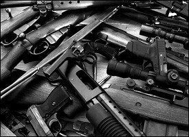 Illegal Weapons Seized In The Caribbean