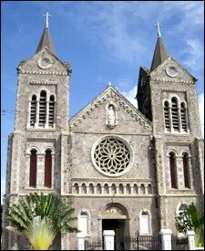 Immaculate Conception Cathedral In St. Kitts