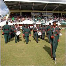 Independence Day Parade - St. Kitts - Nevis -2009