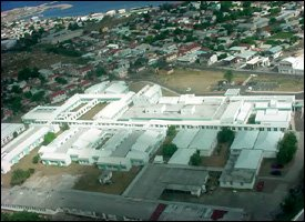 An Aerial View Of The JNF Hospital - St. Kitts