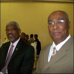 John Allen and Premier Parry