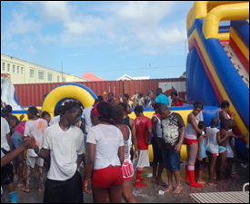 J'Ouvert Beach Chill - St. Kitts Carnival -2010