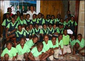 Joycelyn Liburd Primary School Students