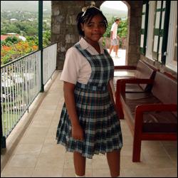 Miss Kerese Elliott of Nevis