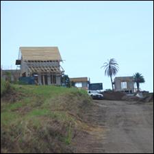 Resort Cottage Under Construction