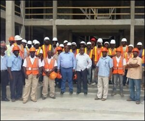 Construction Workers at KOI Resorts