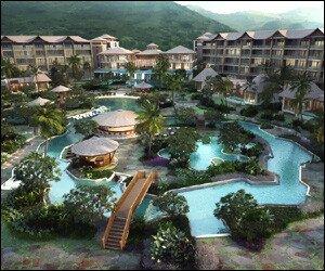 Koi Resort - St. Kitts - Artist's Impression