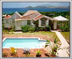 Lambsdown Cottage - Nevis Villa Rental