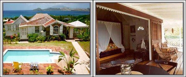 Luxury Nevis Cottage - Lambsdown Villa