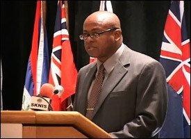Nevis Financial Secretary - Laurie Lawrence