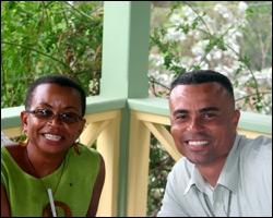 Dr. Laverne Ragster and Mr. Ernie France