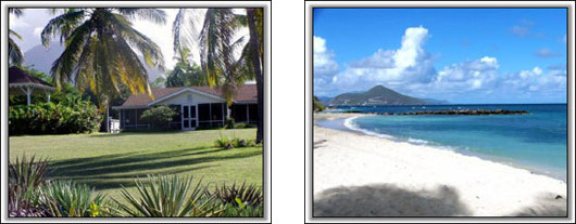 Nevis Villa Rental - Lazy Turtle Villa
